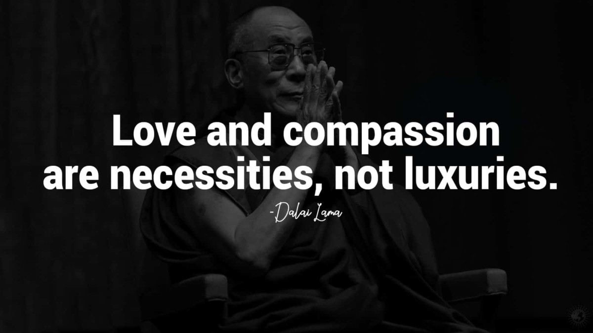 18 Inspirational Love Quotes From The Dalai Lama Power Of Positivity