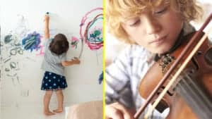 toddler habits to reveal talent