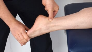 Acute heel pain