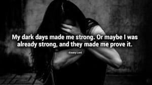 darkest days quotes