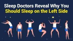 left-side sleeping position