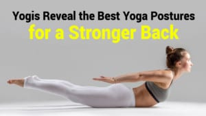 yoga posture stronger back