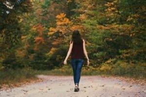 walking to boost serotonin