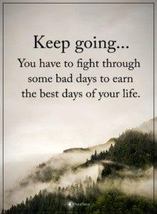 bad days quotes