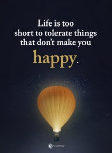 be happy quote