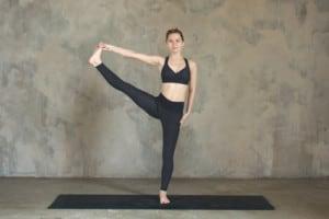 yoga extended big toe
