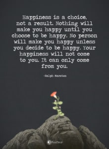 resentment replace with positivity