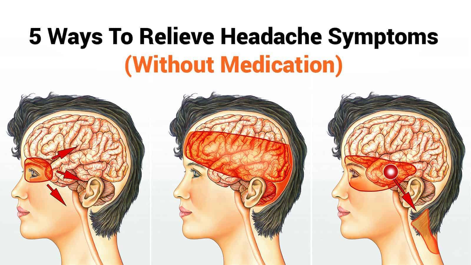 relieve headache symptoms