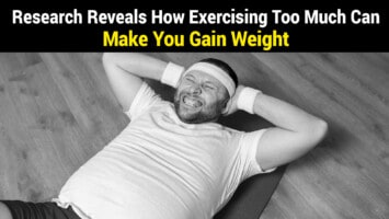 exercising too much