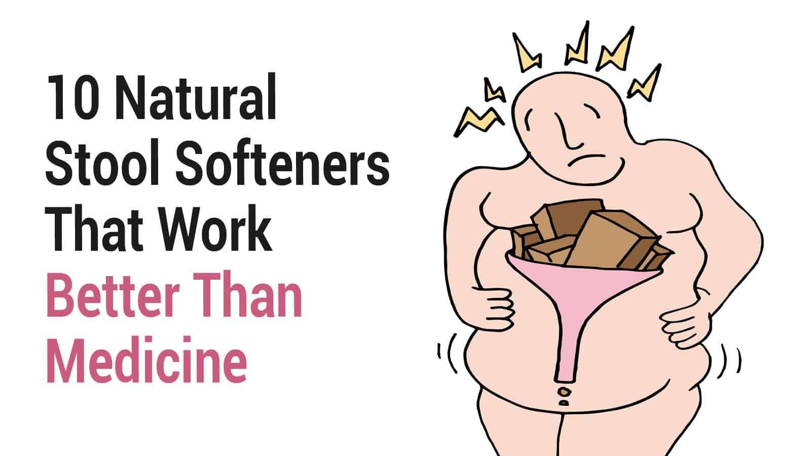 natural stool softeners