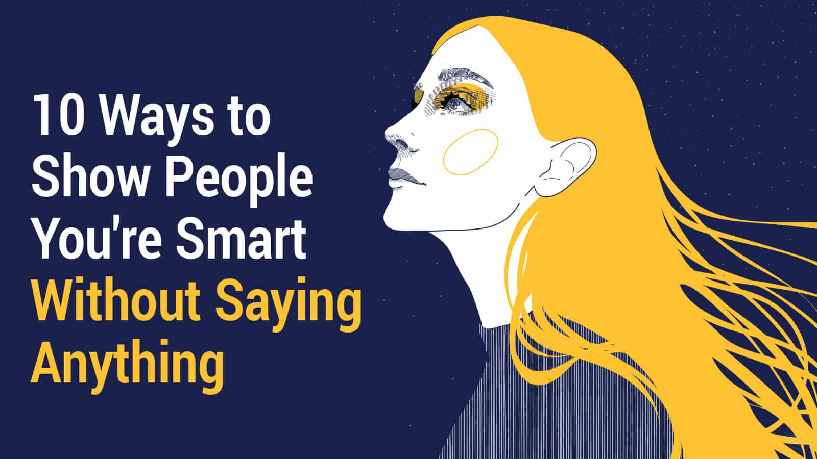 show people you're smart