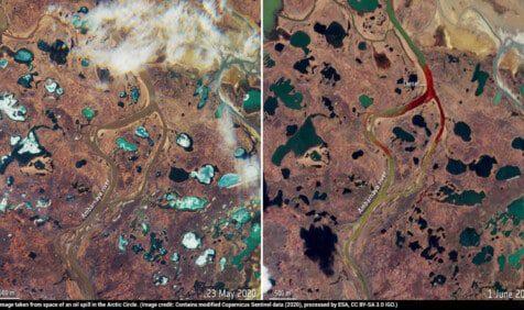 arctic oil spill