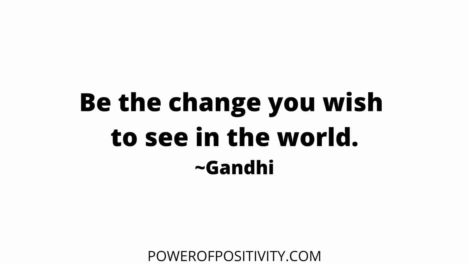 be the change quotes