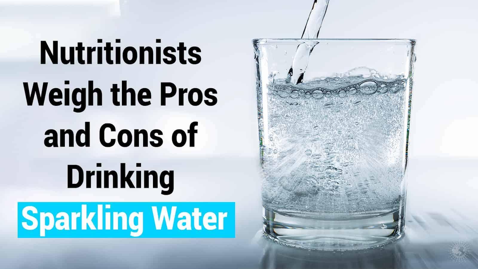 sparkling water bland diet
