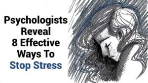pare o estresse