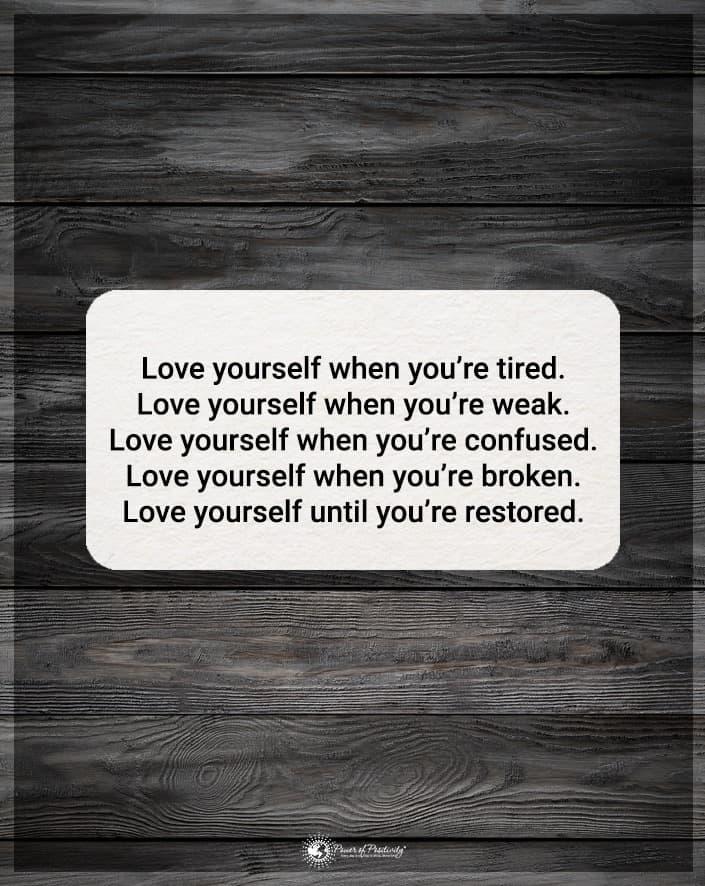 love yourself meme