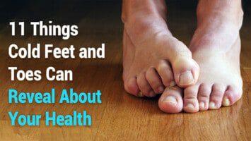 cold feet health symptom