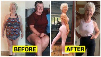 74 year old body transformation