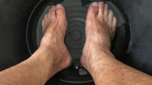 baking soda foot soak