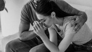 stressed partner