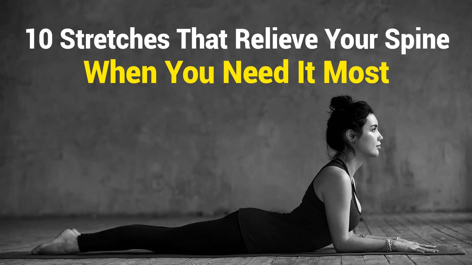 relieve your spine