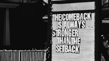 setback makes you stronger
