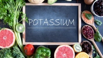potassium rich