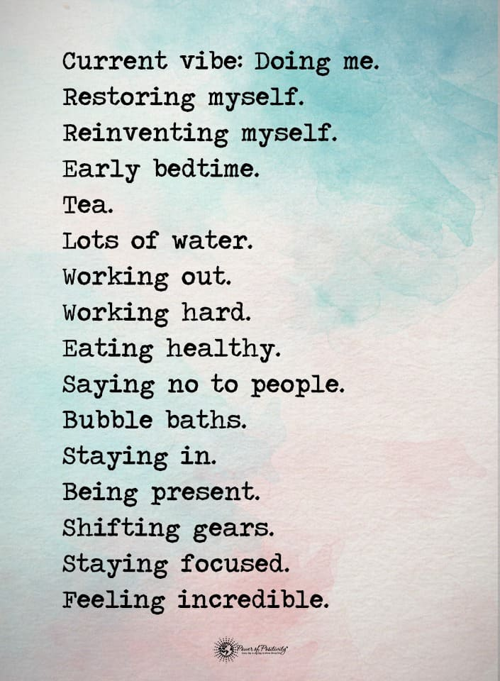 affirmations of positivity