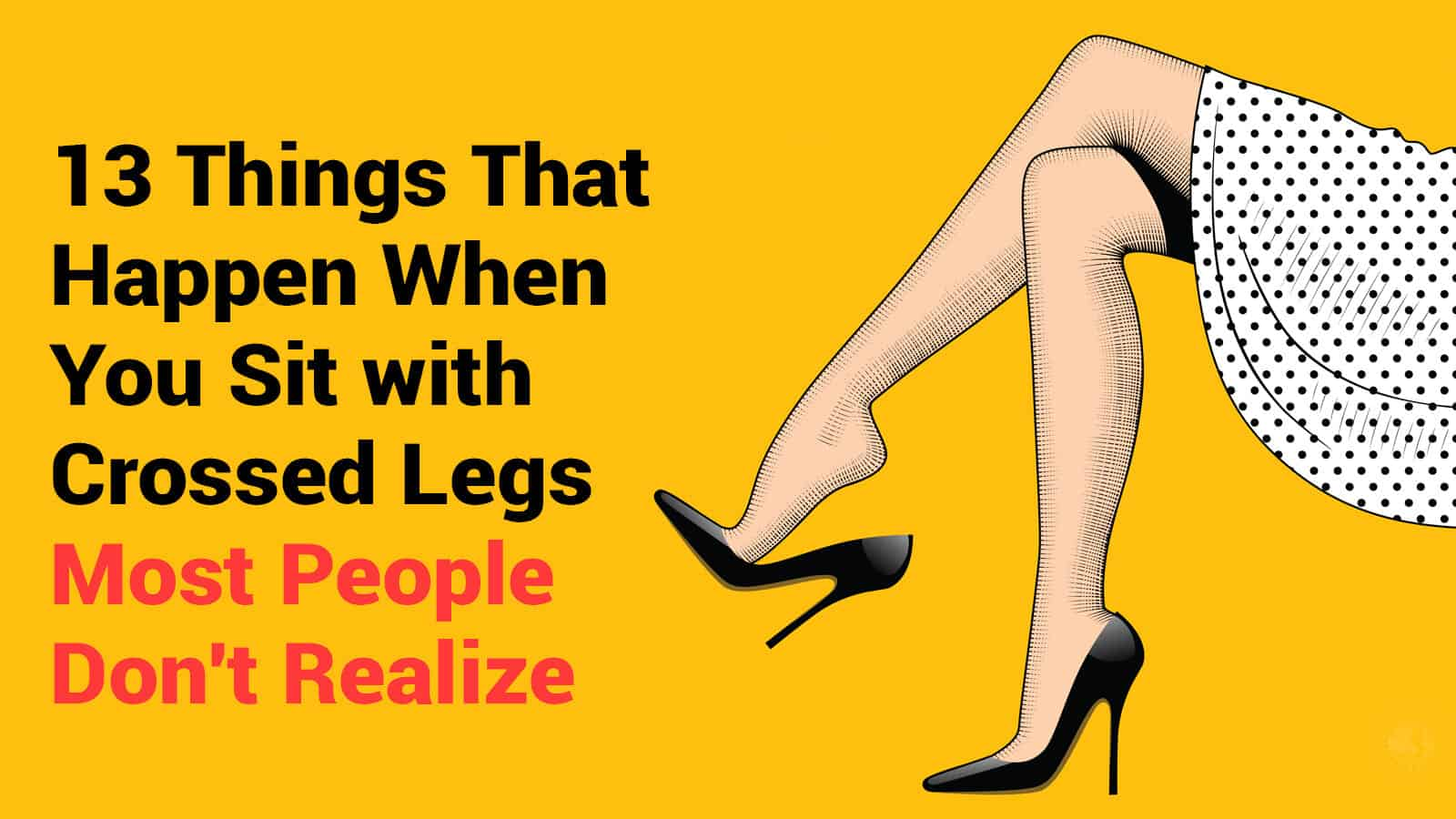 Does a her when crosses legs it woman what mean 10 signals