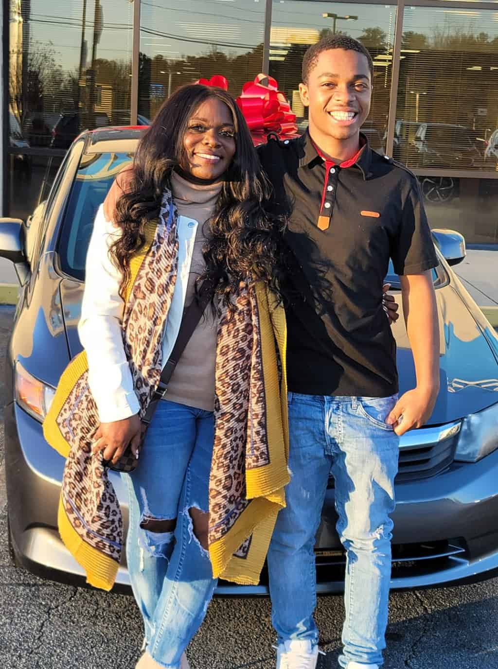 Kindhearted Woman Surprises a Deserving Student with a New Car