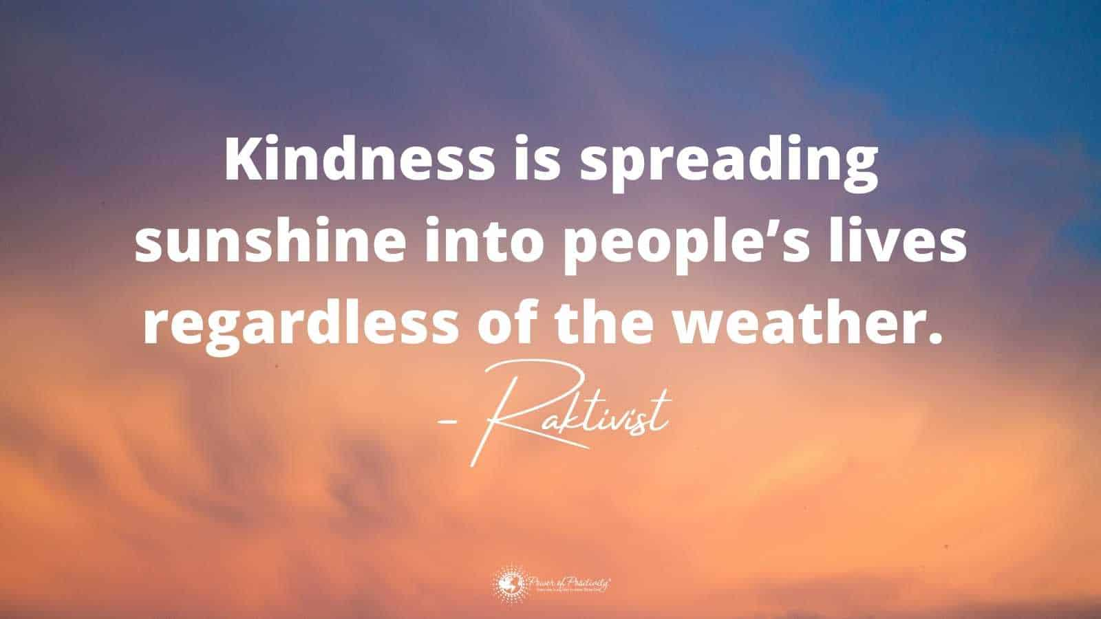 pop quote kindness