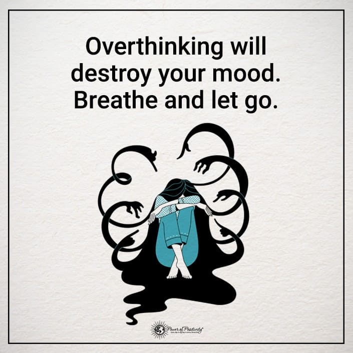 quotes about overthinking