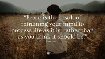 peace affirmations