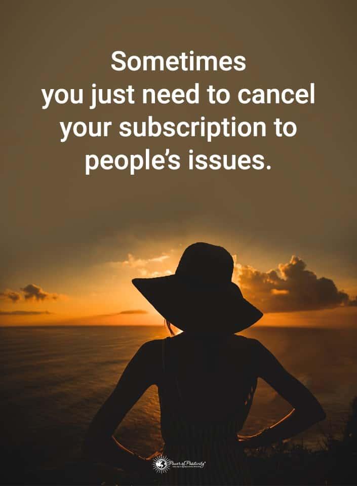 cancel subscription meme