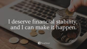 financial affirmations