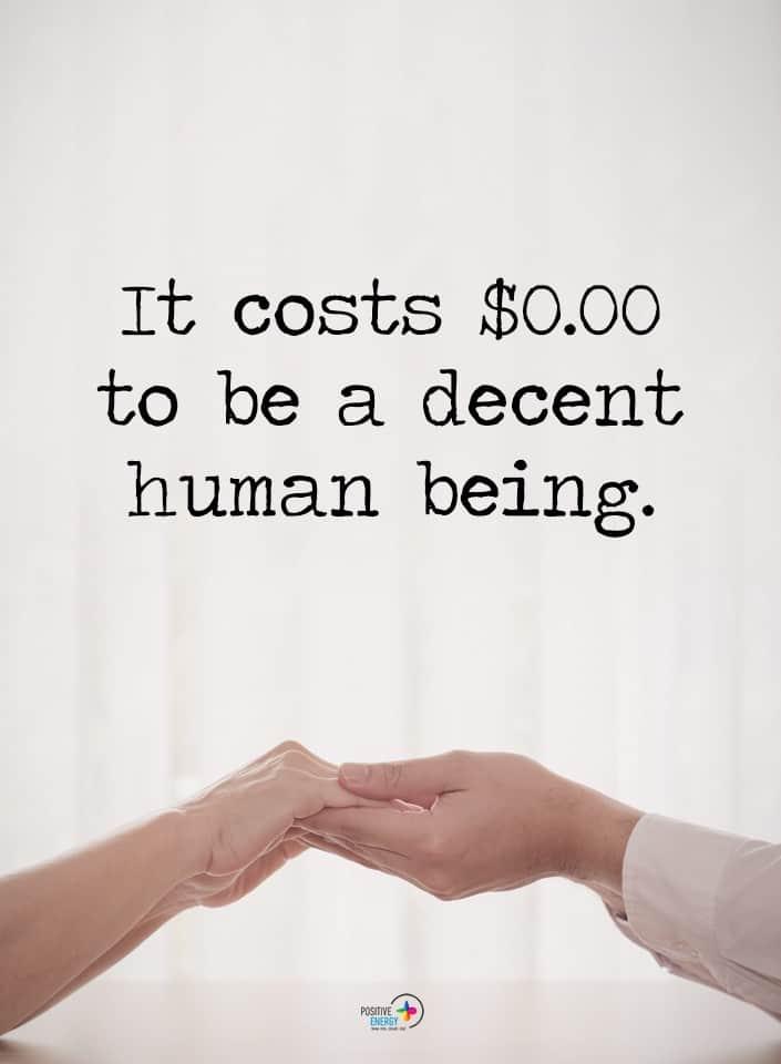 decent human meme