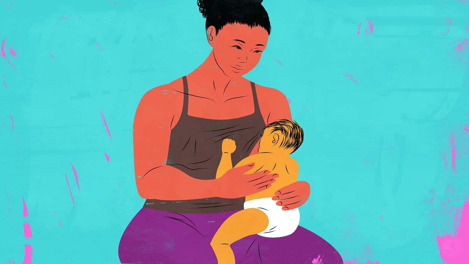 breastfed babies