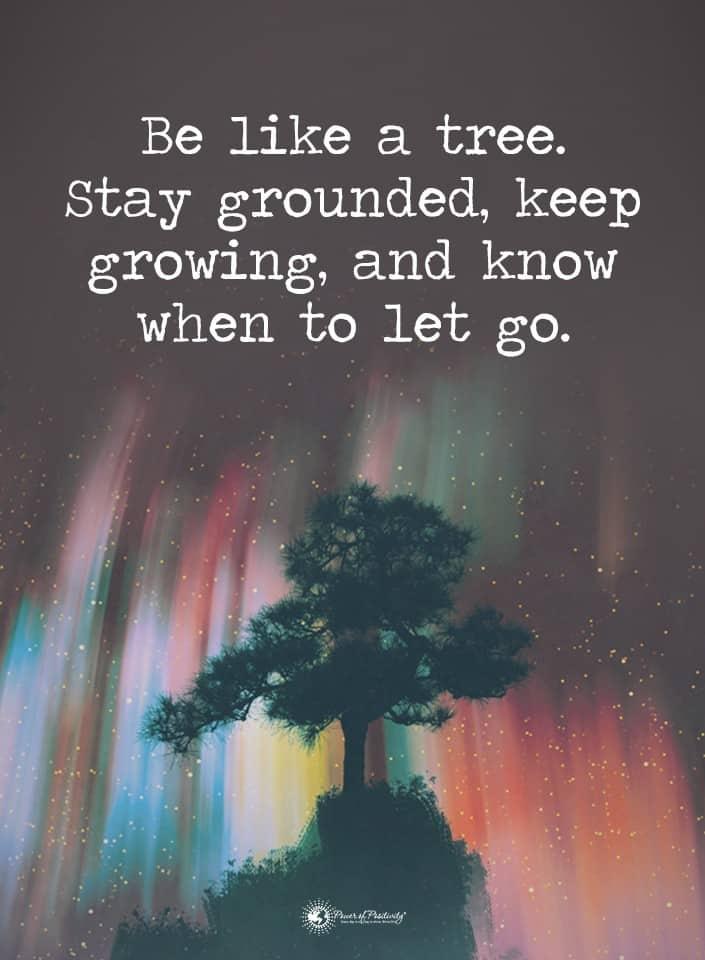 let someone go