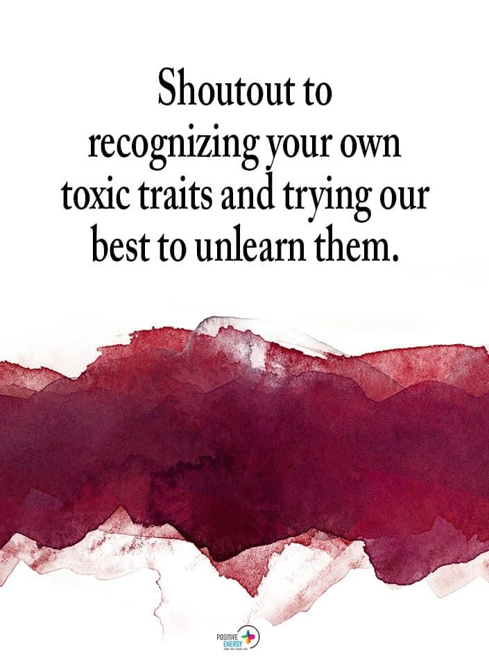 toxic traits meme