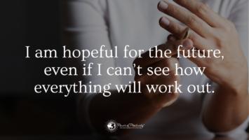 divorced parent hopeful future