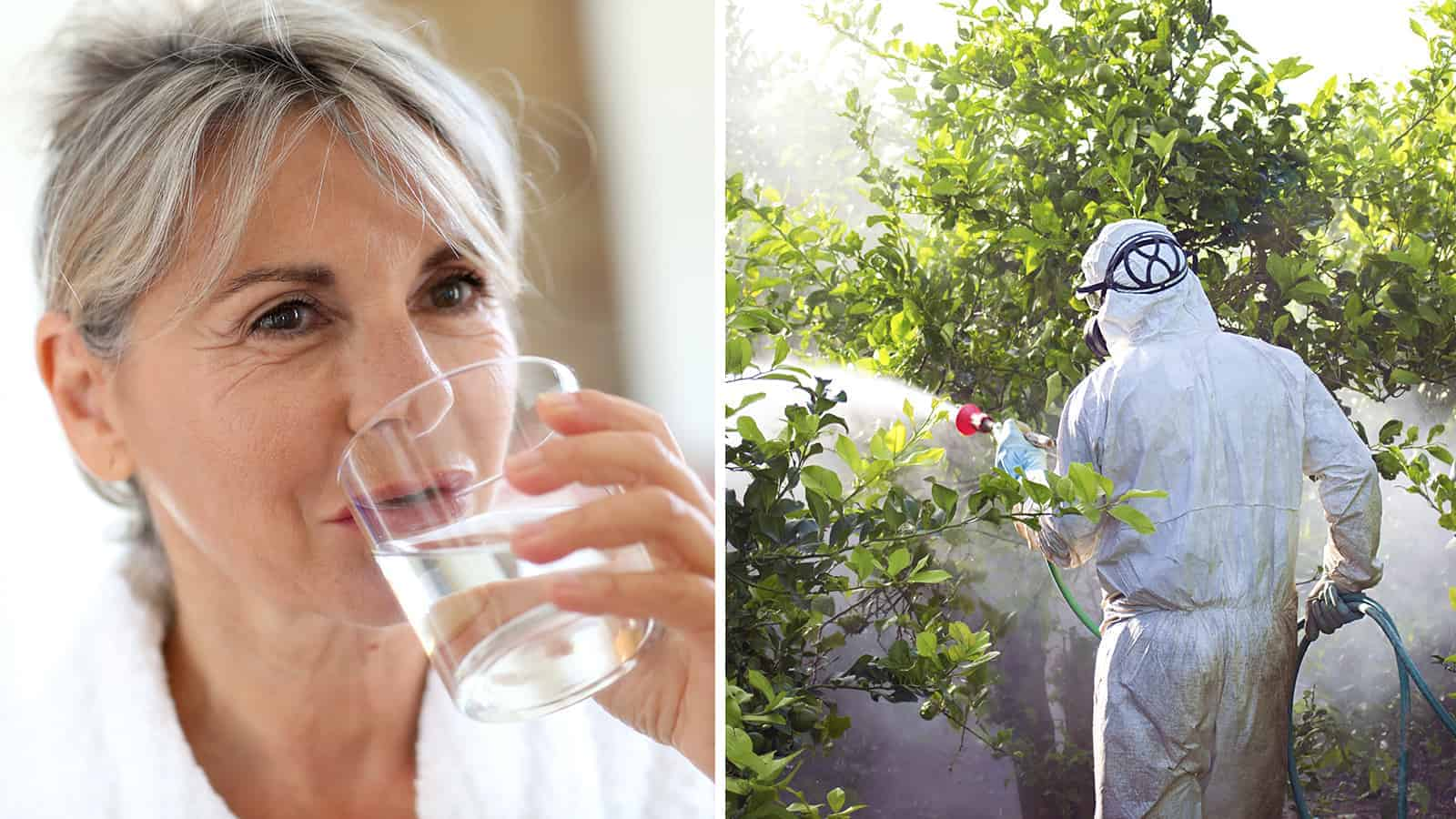 pesticides in water