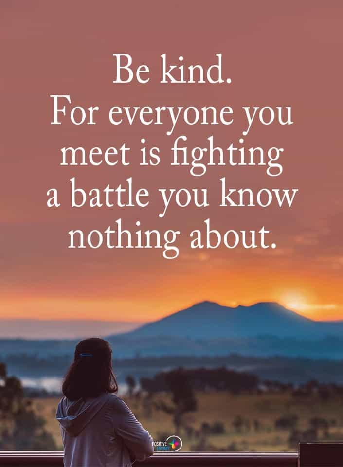 be kind meme