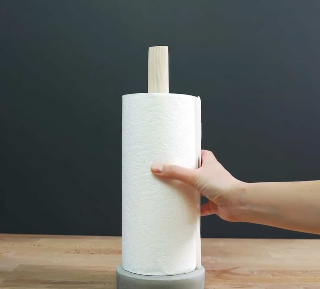 cement papertowel