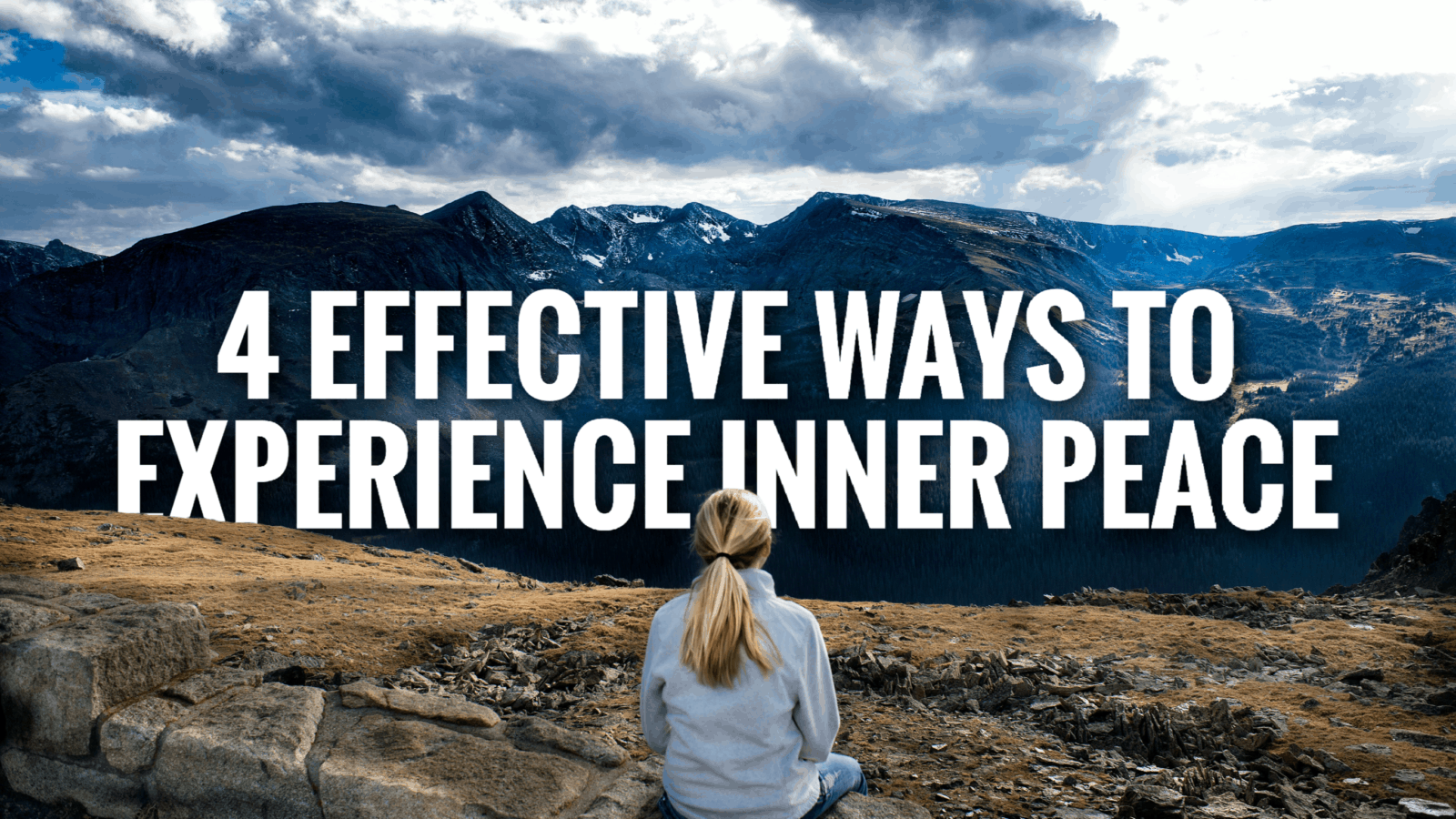 experience inner peace