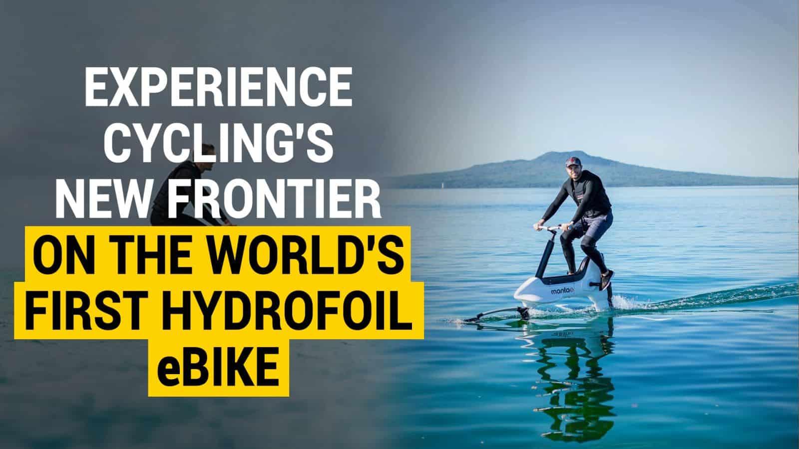 hydrofoil bike