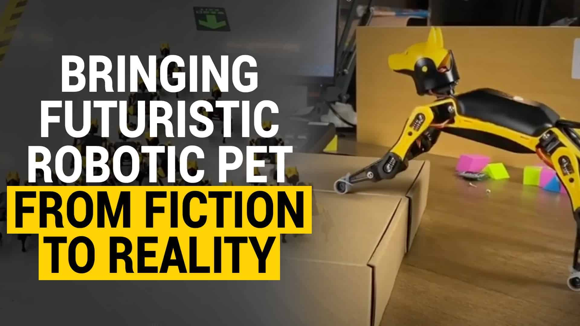 robotic pets AI learning
