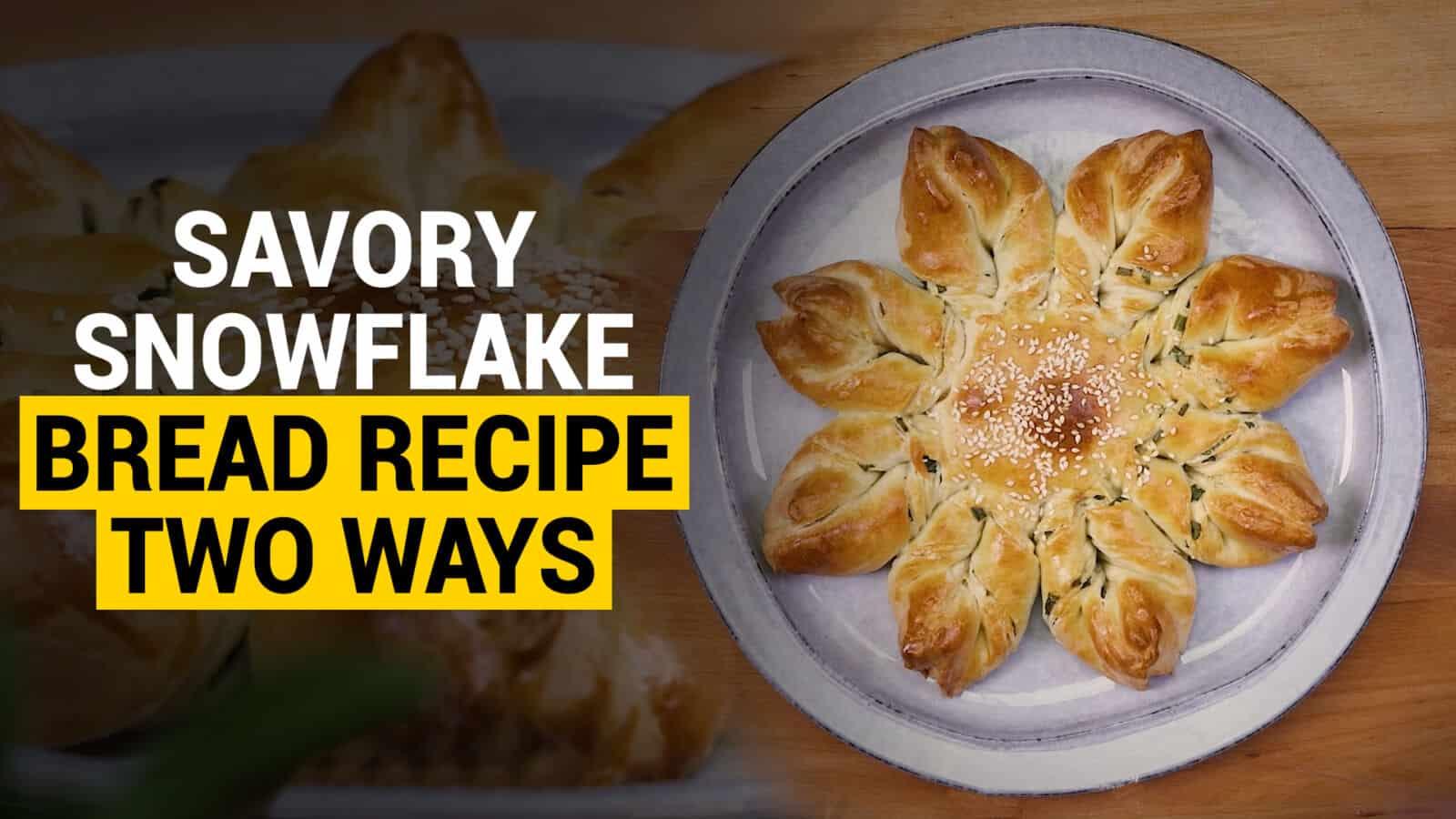 snowflake bread