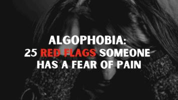 algophobia fear of pain