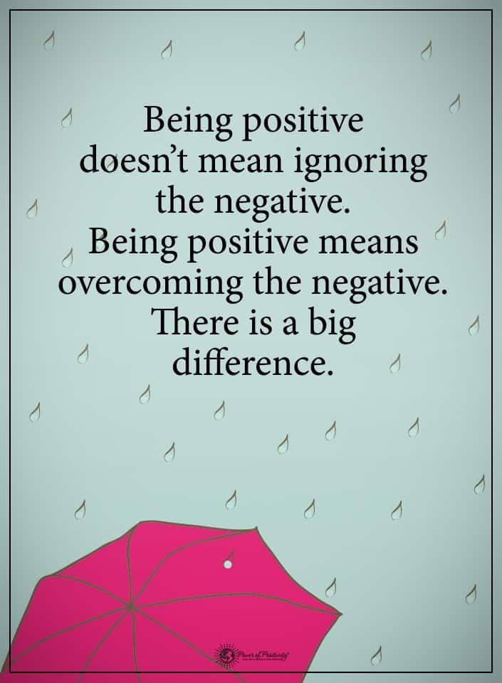 deflect negativity