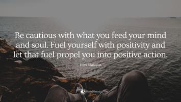 decrease negative energy